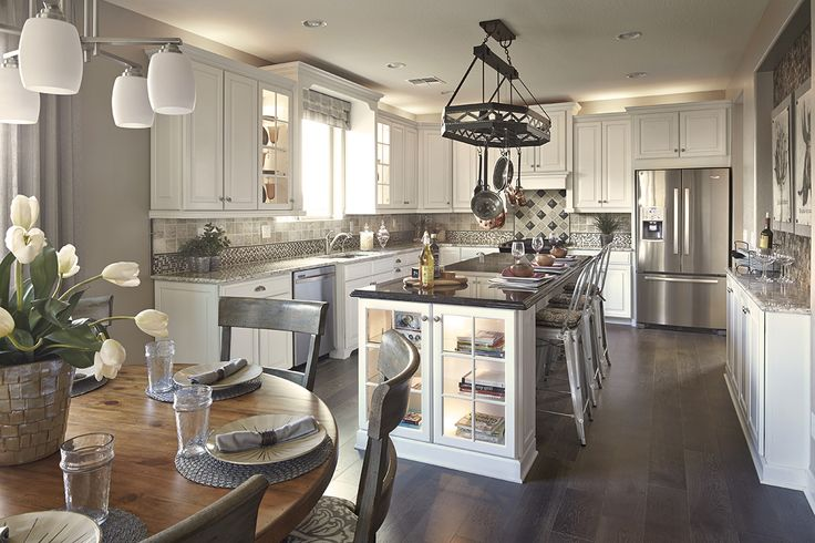 13 best images about kitchens the mattamy way on for Model home kitchens