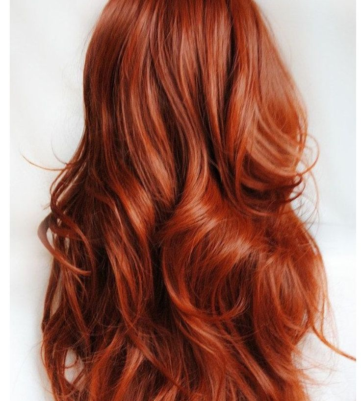 light copper soft waves