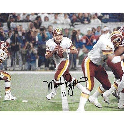 Mark Rypien, Washington Redskins, Super Bowl, MVP, Signed, Autographed, 8X10 Photo , A COA With Proof Photo Will Be Included-