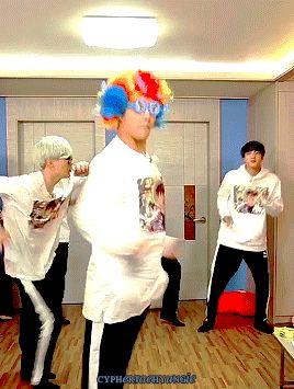 Dab on em, Suga and V! Look at Jin being Jin ㅎㅎㅎㅎㅎ