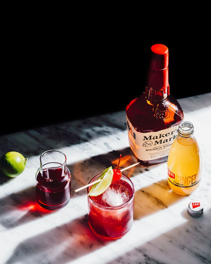 Light up the night with a Flamin' Cherry. Created by Brisbane's Heya Bar, this spicy and daring Cocktail, made with smooth Makers Mark and tart cranberry juice, is one for the intrepid mix master with a flare for drama.