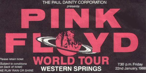 Pink Floyd played in Auckland on this day in 1988 as part of their world tour.    David Gilmour (@GilmourOrgasm) | Twitter