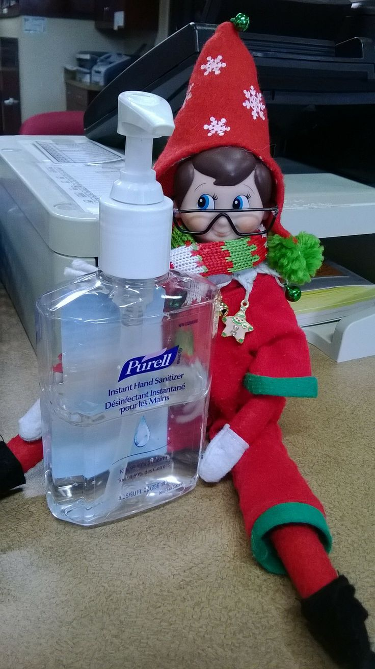 our elf hanging out at the circulation desk more library ideas elf ...