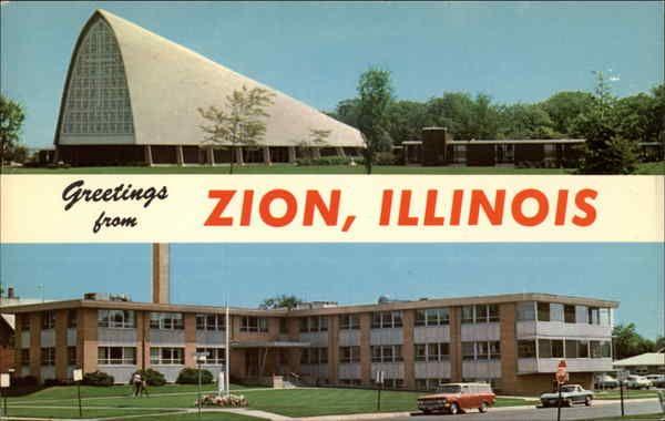 Christian Catholic Church Auditorium And Zion Benton Hospital In 2020 Zion Illinois Illinois Zion