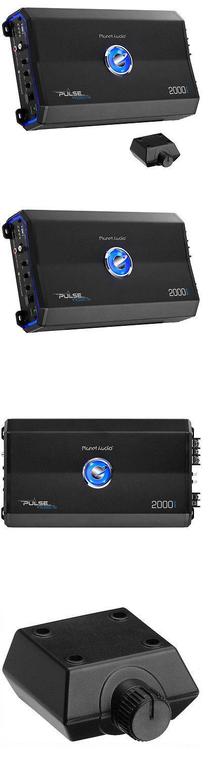 Car Amplifiers: Planet Audio 2000W Class A B Monoblock Mosfet 1Ohm Car Audio Amplifier Pl2000.1M -> BUY IT NOW ONLY: $74.95 on eBay!