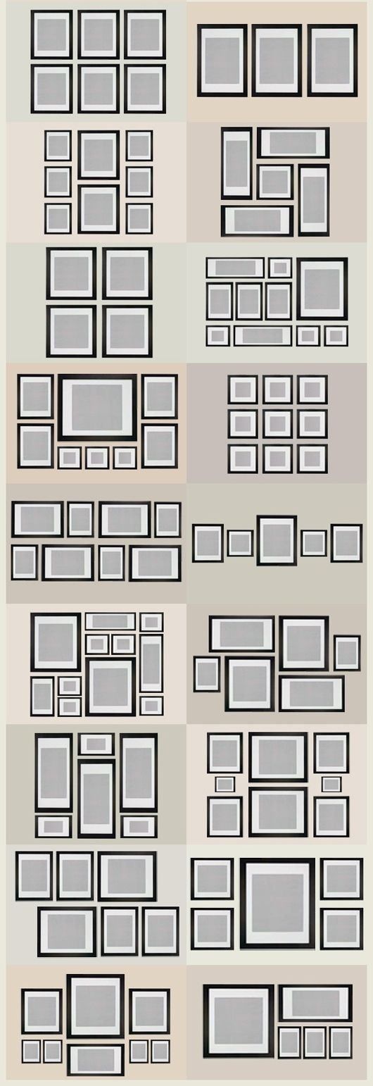 photo hanging templates