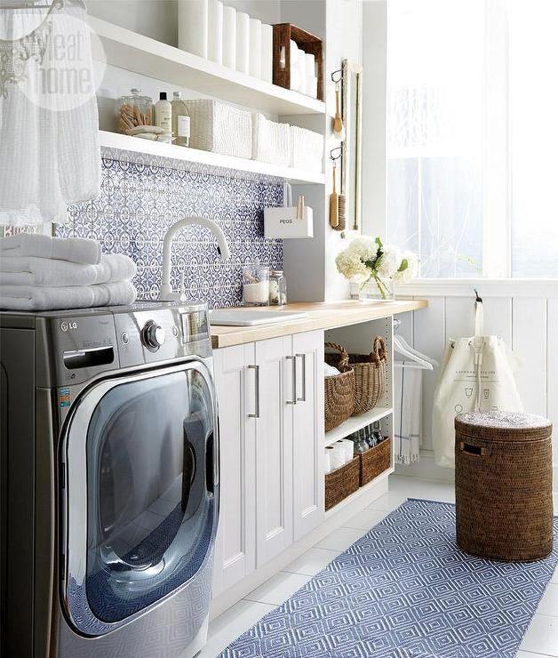 Something Blond Blue Kitchens: Best 25+ Blue Laundry Rooms Ideas On Pinterest