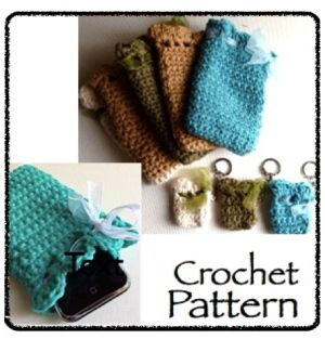 Download Crochet Smart Case: phone, soda, sunglasses, key ...