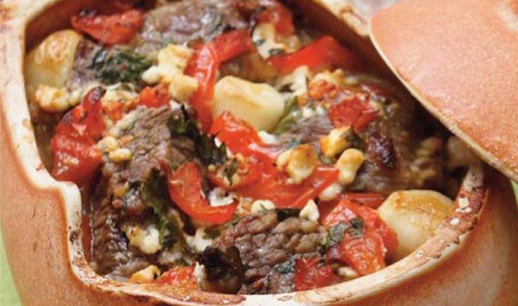 Κρέας στη Γάστρα, η λύση στο Κυριακάτικο οικογενειακό Τραπέζι - gourmed.gr