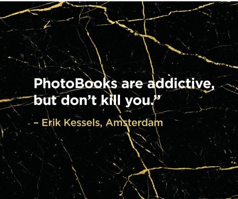 """PhotoBooks are addictive, but don't kill you."" Eric Kessels bit.ly/crowd_books"