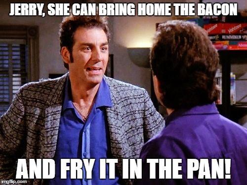 Kramer is in love! Pam! Pam! Pam!