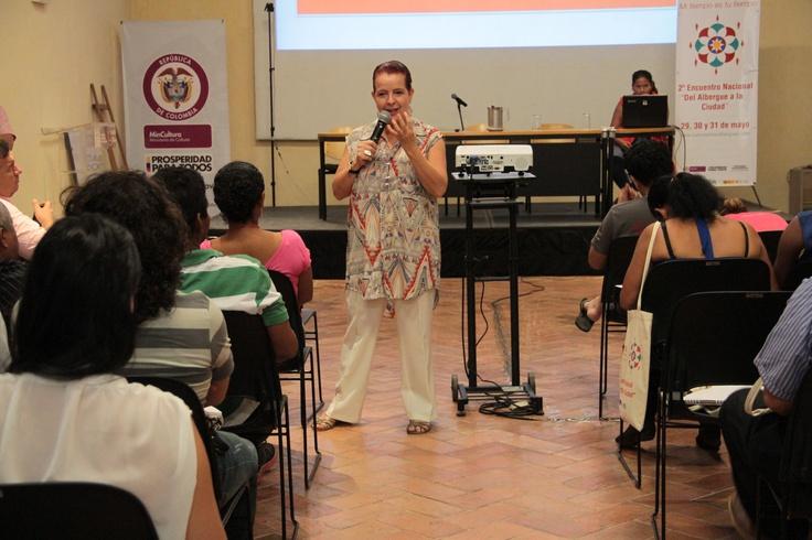 Lucía Gómez, conferencista invitada