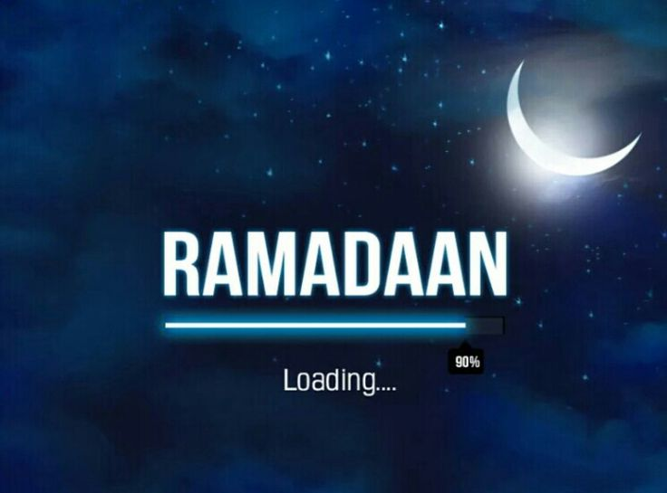 Ramdan is coming. Our holy time is coming♥