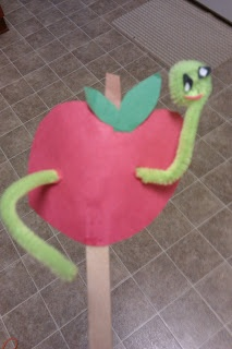 Apple worm craft.