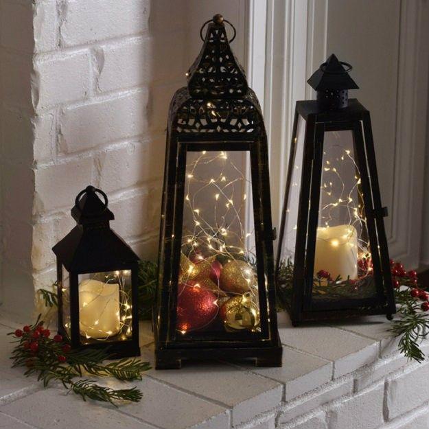 Romantic LED Lantern   16 DIY Christmas Lanterns Ideas To Brighten Up Your Home