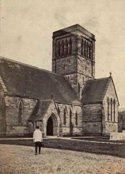 St Paul's Church, Rusthall c1870.