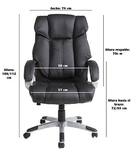 Sillón de oficina Confort Negro - http://vivahogar.net/oferta/sillon-de-oficina-confort-negro/ -