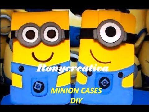 DIY MINION PHONE-TABLET-IPOD CASE / Ronycreativa English Channel
