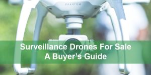 Surveillance drones for sale feature