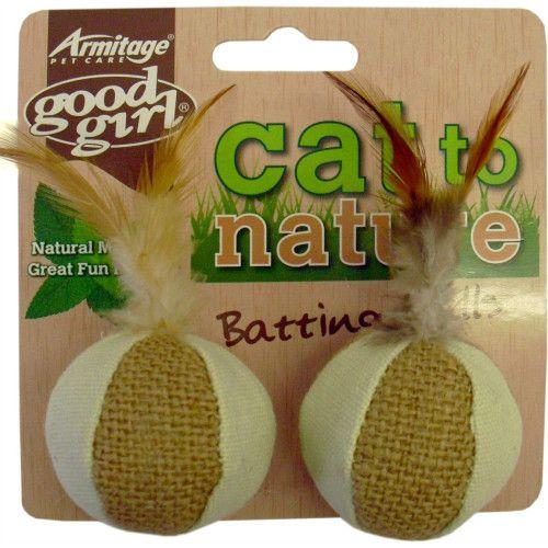 Good Girl Cat To Nature Batting Balls Cat Toy