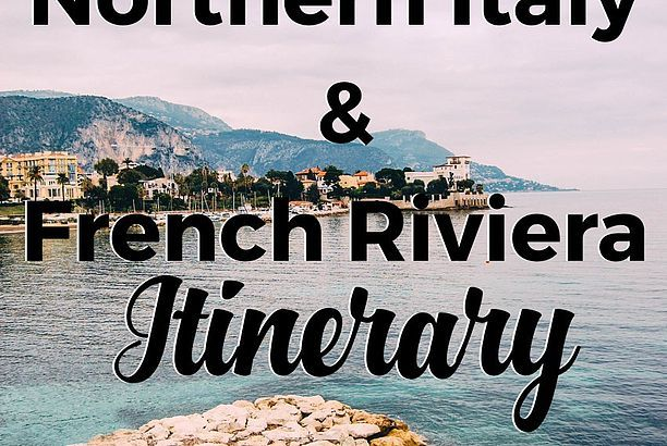 8 Day Northern Italy and French Riviera Itinerary