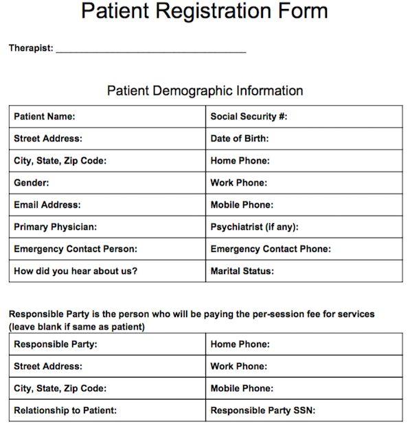 Patient Note Template - feodtifet