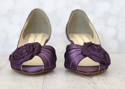 17 Best images about Purple Wedding Shoes on Pinterest