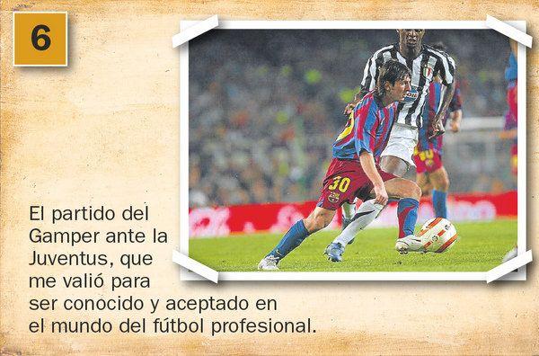 Los recuerdos de Messi | 2005