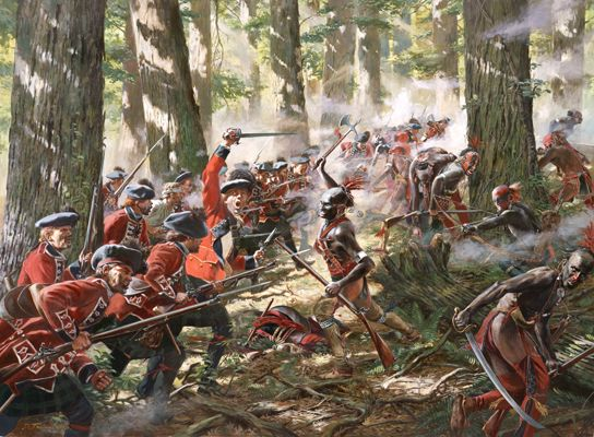 Black Watch at battle Bushy Run