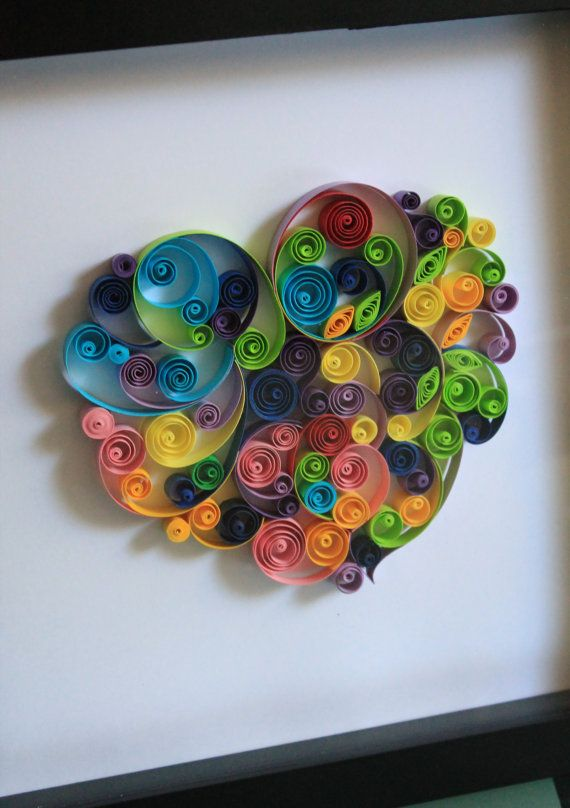9 best paper quilled wall art images on Pinterest | Paper ...