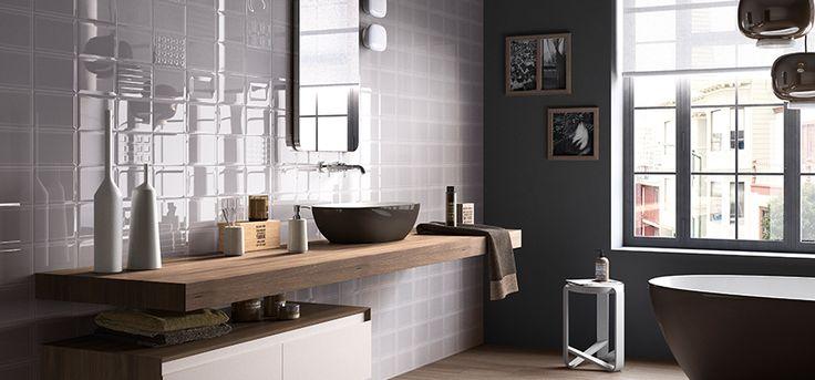 Besten Bathroom Ideas Bilder Auf Pinterest Badezimmer - Weiße fliesen silbergraue fugen