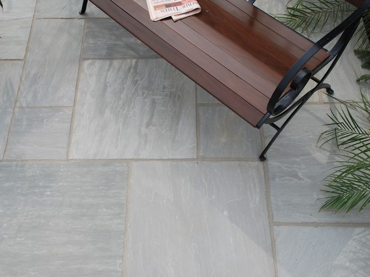 Strata Stones   Whitchurch Sandstone Collection   Grey   Patio Packs