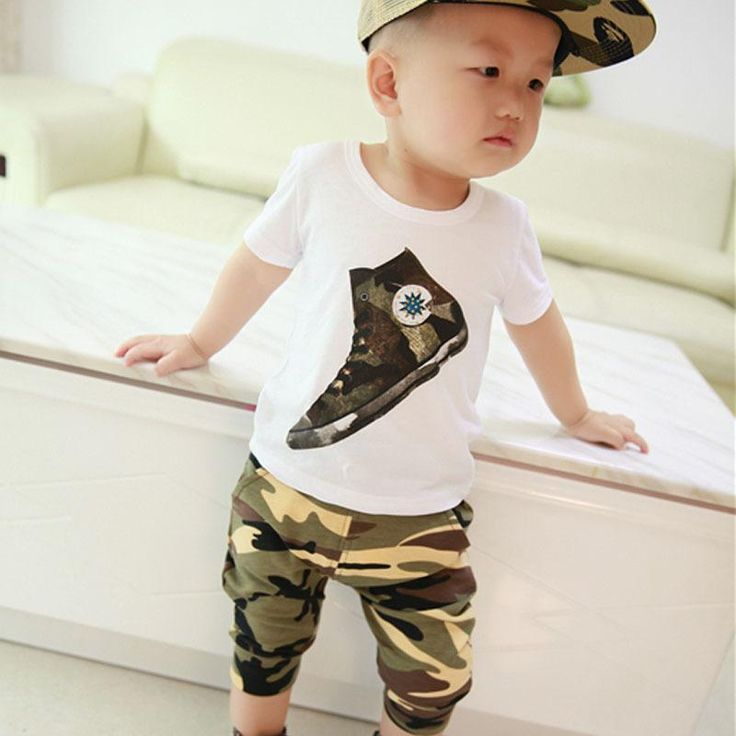 new hot sale baby boy clothes spring summer children's clothing children t shirts baby boy short sleeve cotton clothing set