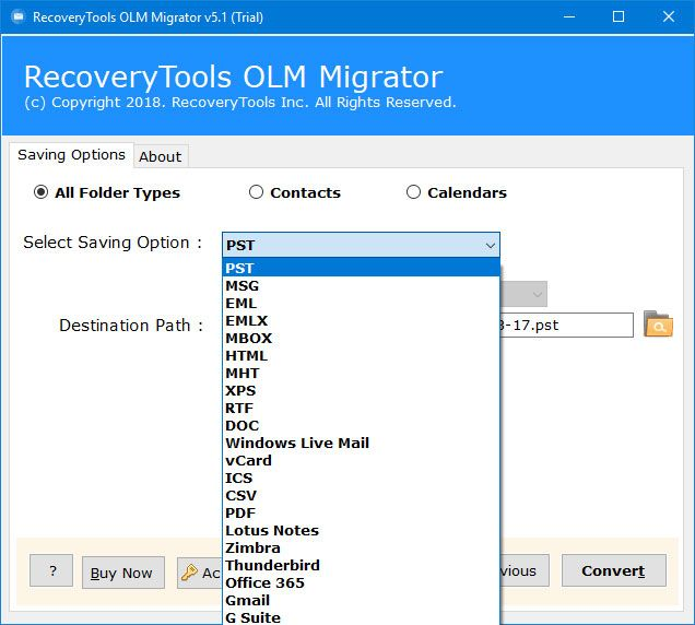 To find out the best solution to import Mac Outlook OLM