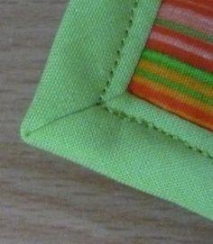 tuto pour des angles parfaits avec du biais! Blog techniques de couture