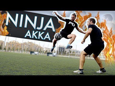 FUTBOL NINJA AKKA - Trucos de Fútbol, Videos y goles (Tutoriales Freestyle Football skills) - YouTube