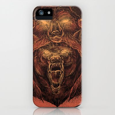 Wolf in a Sheep's Clothing (color revision) iPhone & iPod Case by Cycoblast Artwork - $35.00. visit my store at society6 here: http://society6.com/cycoblastartwork