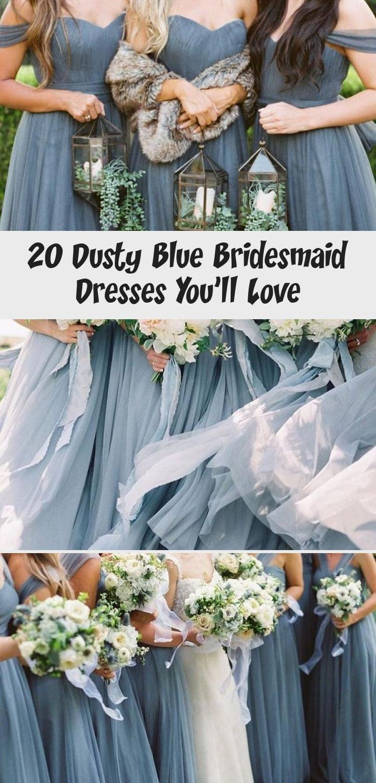 dusty blue wedding color ideas - dusty blue bridesmaid dresses  #weddings #wedding #blueweddings #weddingcolors #weddingideas #dustyblue #beautiful #dresses #bridesmaid #BridesmaidDressesMint #UniqueBridesmaidDresses #TaupeBridesmaidDresses #MermaidBridesmaidDresses #BridesmaidDressesVintage