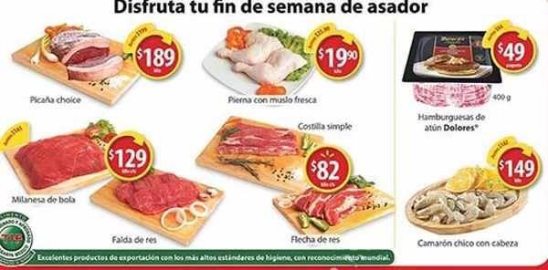 Este fin de semana las tiendas Walmart tendrán varias ofertas en frutas, verduras y carnes del 25 al 27 de agosto:Ofertas en carnes y pescados:Pier...