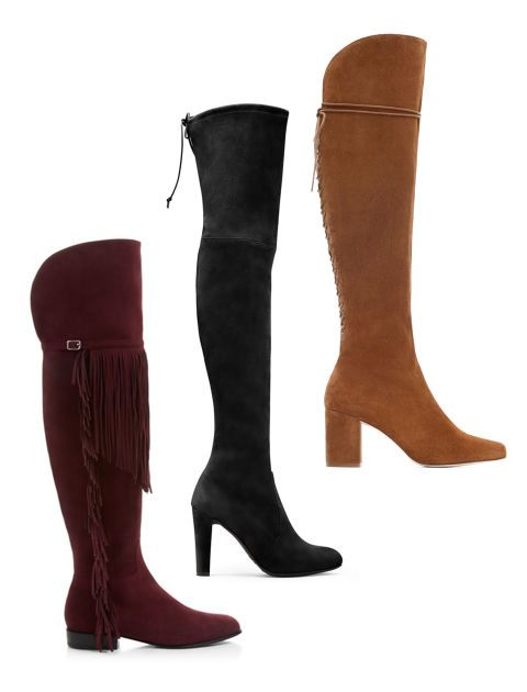 Arguably the sexiest piece of footwear ever invented, over-the-knee boots are never really out of style, but they are especially hot this fall. They are great worn over skinny pants or paired with a super short skirt so that only a sliver of skin is visible between the hem and the top of the boot. Unfortunately, even at the lower end of the price spectrum, they are still pretty expensive, so you want to make sure you are getting the perfect pair before you drop all that cash. That means you…