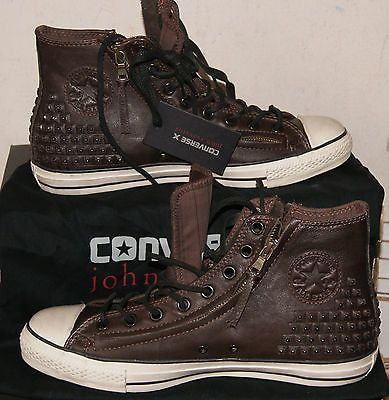2b017ea86ec880 NEW CONVERSE BY JOHN VARVATOS CHUCK TAYLOR DOUBLE ZIP STUDDED HI MEN S 11