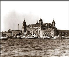 Interactive Tour of Ellis Island~  Pics and audio from immigrants that made the journey.