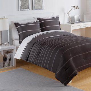 IZOD Matrix Stripe 3-piece Comforter Set
