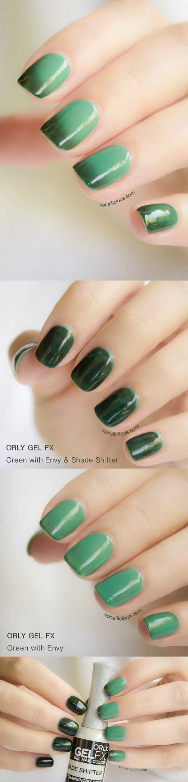 Best Gel Nail Designs - Orly Gel Fx and Orly Gel Fx Shade Shifter - Beautiful Gel Nail Designs And Pictures Of Manicures And Nailart To Give You Some Awesome Fashion Style. Step By Step Tutorials And Tips And Tricks And Ideas For Shape And Colour. Polish And Shape Your Nails To Match Your Makeup And Follow These Art Tutorials To Get That Sparkle In Your Tips. Try The Best Gel Nail Designs With Ideas For Summer, Fall, Spring, And Winter. Gel Nail Art Is Awesome And Goes Great With These…