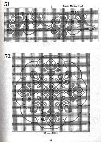 Free Filet Crochet Graph Patterns | Recent Photos The Commons Getty Collection Galleries World Map App ...