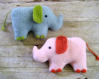 Amigurumi Knit Baby Doll Patterns Digital Download por AmyGaines