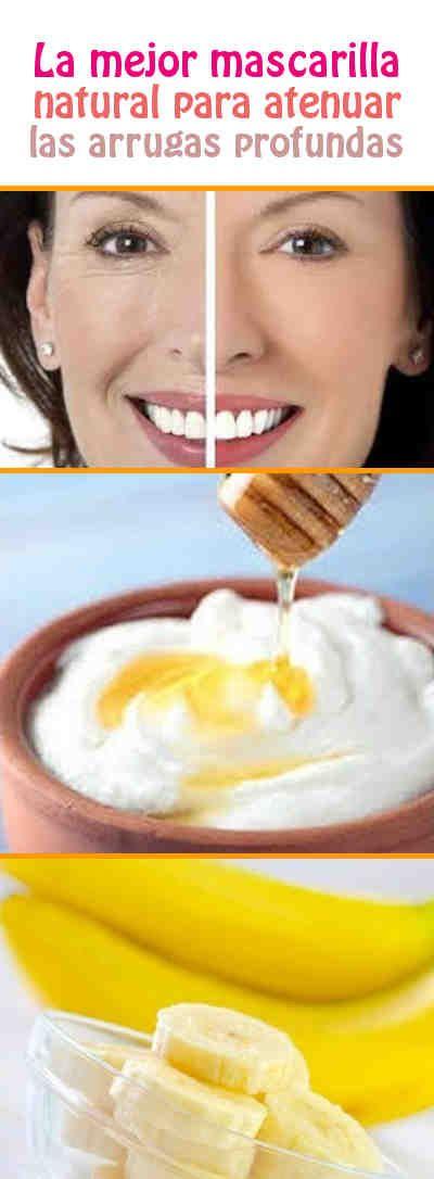 La mejor mascarilla natural para atenuar las arrugas profundas