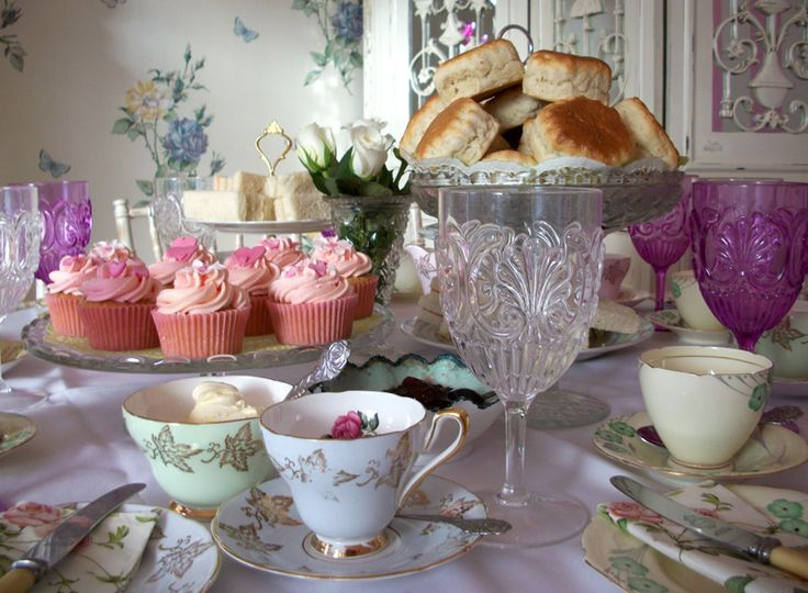 Purple pink combo afternoon tea ideas pinterest for Afternoon tea decoration ideas