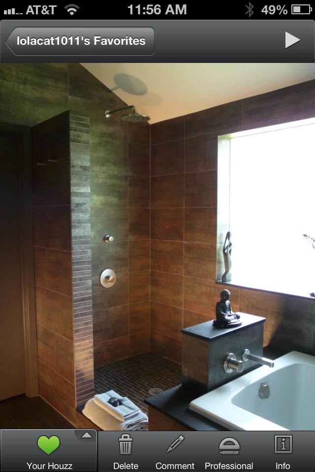 22 best shower ideas images on pinterest | bathroom ideas, open