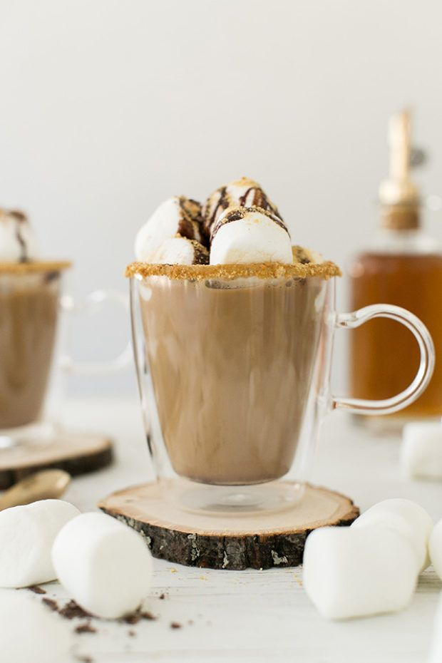 Cinnamon S'mores Coffee / Coffee Recipe / Dunkin' Donuts Home Brew Coffee / Breakfast Recipes / Sponsored by Walmart